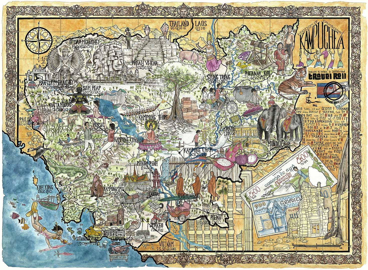 travel-roll-cambodia-diary-souvenir-gift-map-1080